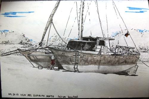 Aluminum Wharram Sketch