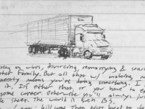 Amazon transamazonica truck in Brazil