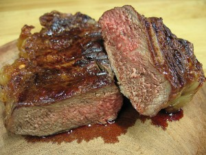The famous meat of Argentinan Asado.