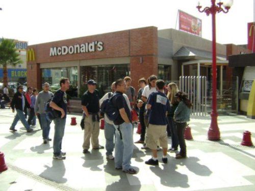 The McDonald's in Arica Chile.