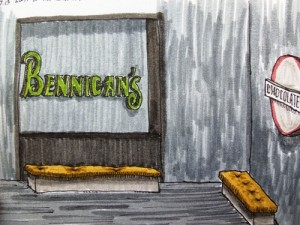 Bennigan's in Panama