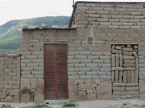A adobe abode in the Bolivian altiplano.