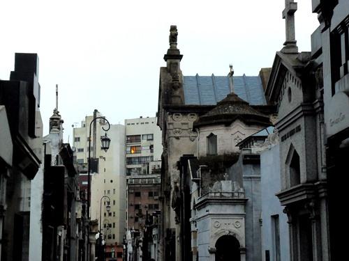 La Recoleta, a cemetery in central Buenos Aires.