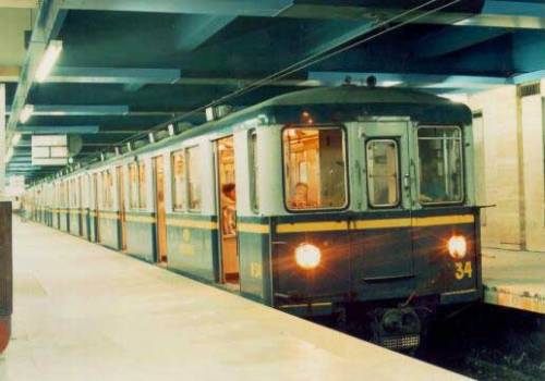 "The subway of Buenos Aires, called the ""Subte"", short for subterranean."