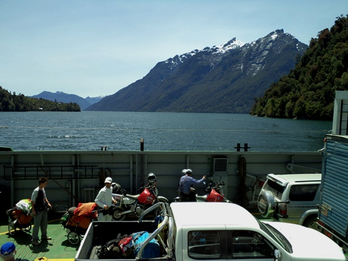 You had to take many ferries to navigate Chile's Patagonia.