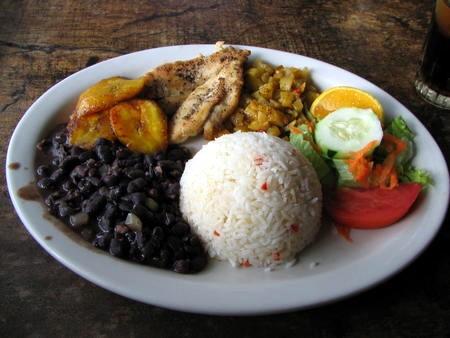 Costa Rican food.