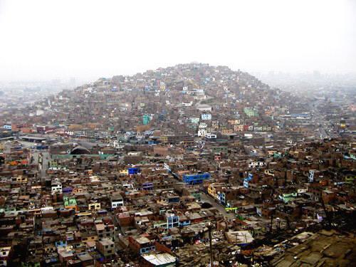 Garua smog in Lima, Peru.