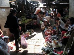 The marketplace in Granada.