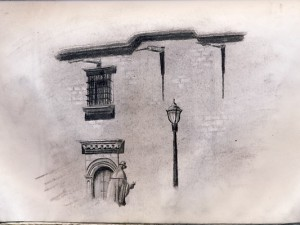 Guadalajara Travel Sketch