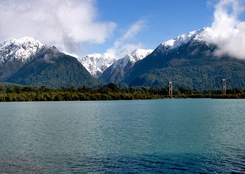 Lago Yelcho, Chile Patagonia.