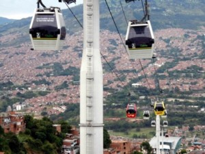 Medellin cable cars