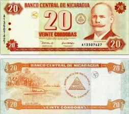 Nicaraguan money.