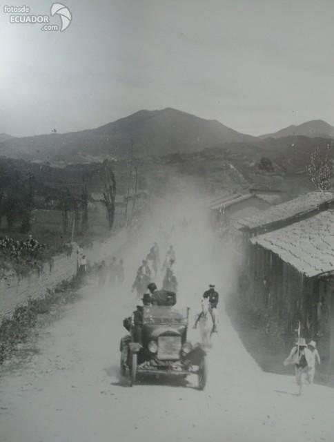 Old Loja, Ecuador in the past.