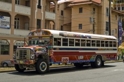 The Panama City buses looked like Further.