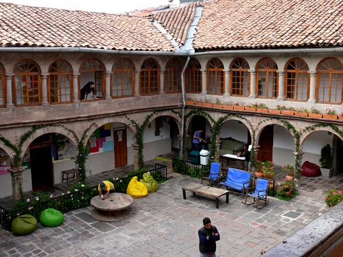 The Pariwana Cuzco hostel.
