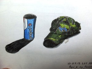 Drawing of Pepsi