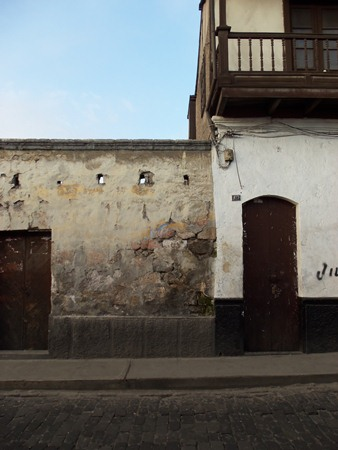 A photogenic wall in Arequipa, Peru.