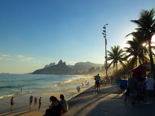 Photo of Ipanema Beach.