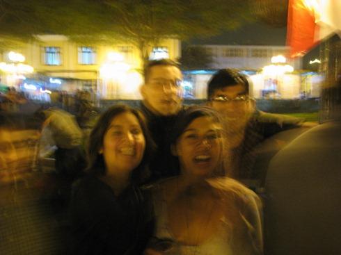 Lima pisco party.