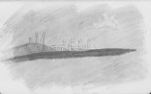 Puente Orinokia Drawing