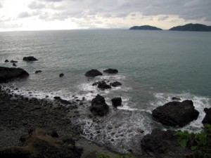 The sea at Quepos.