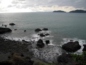 The sea at Quepos.