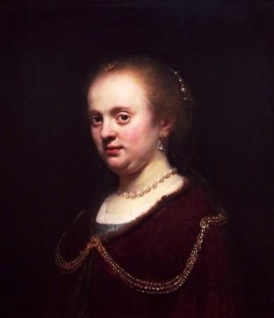 Rembrandt's Sister Lisbeth