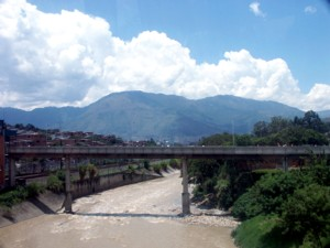 The river in Rionegro Colombia.
