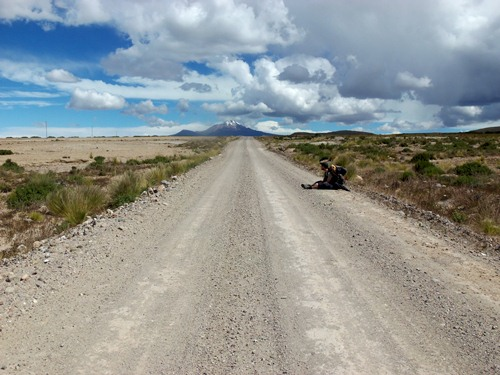 Road to Uyuni