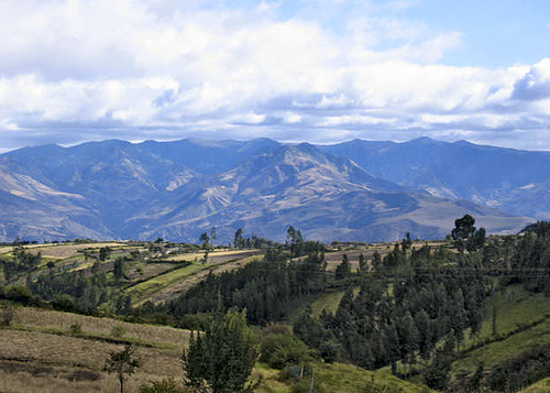 Rural Ecuador in the state of Tulcan.