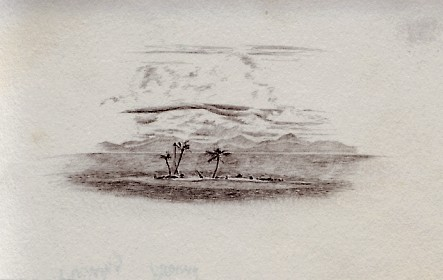 Travel Sketch of the San Blas Islands