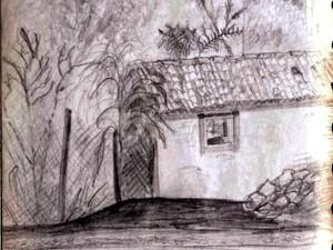 Santa Lucia Mexico Sketch