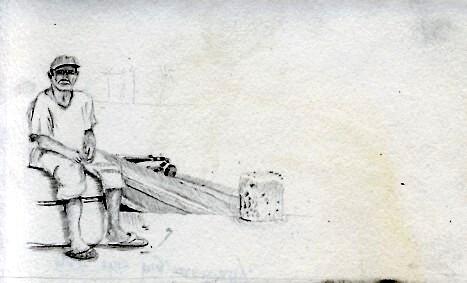 Sketching Kuna Indian