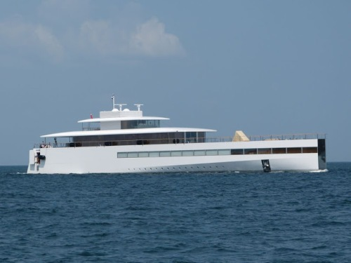 Steve Job's Yacht