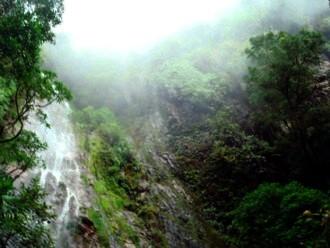El Tigre Park Waterfall in Tegucigalpa.