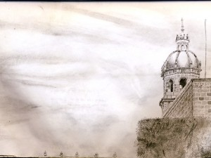 Travel Drawing from Morelia