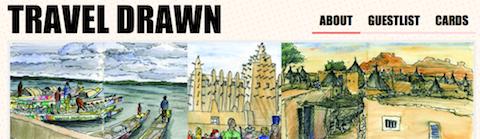 Sketch book travel blog