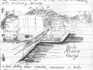 Belo Monte ferry in Brazil's Amazon