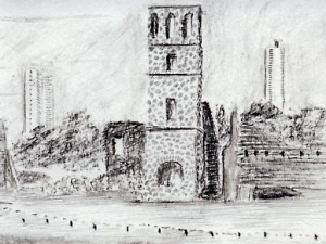 Old Panama City Sketch