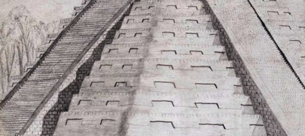 Chichen Itza Pyramid Sketch