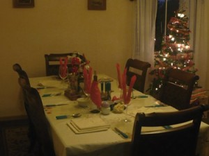 Christmas Table Chile
