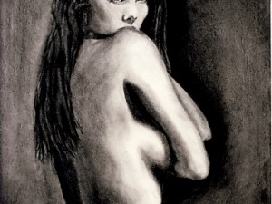 Drawing of a Naked Model