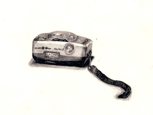 Drawing of a Camera