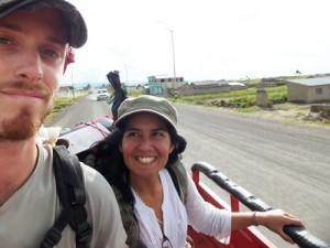 Hitchhiking in South America