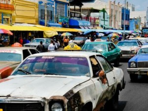 Old cars in Venezuela.