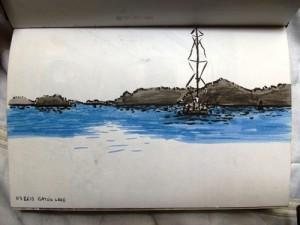 Panama Canal Sailboats