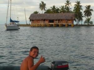 Sailing in the San Blas