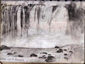 Sketching the Salto de Eyipantla