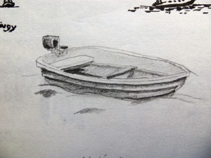 Sketch of a Dinghy
