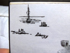 Sketching of Sailboat Dinghies